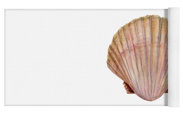 Scallop Shell Yoga Mat
