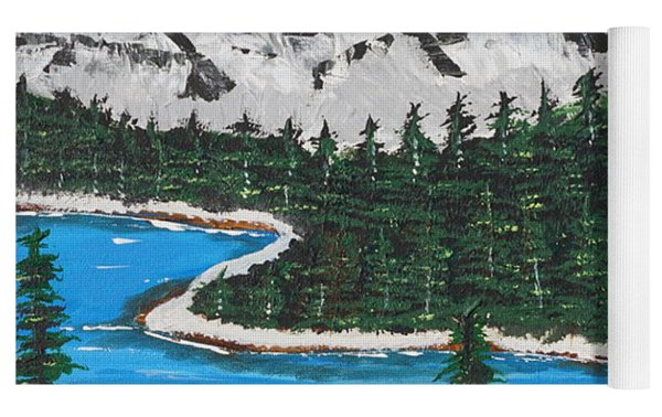 Scenic View  Yoga Mat by Jimmy Clark