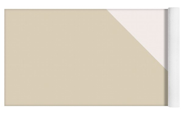 Soft Blush And Champagne Yoga Mat by Linda Woods
