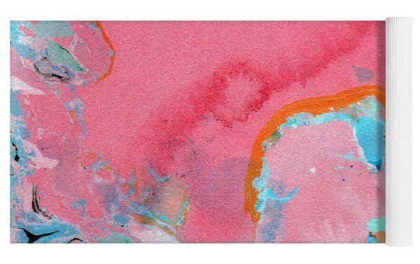 Somewhere New- Abstract Art By Linda Woods Yoga Mat by Linda Woods