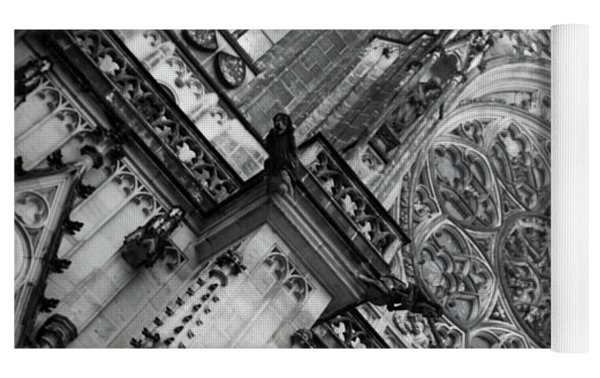 St. Vitus Cathedral 1 Yoga Mat by Matthew Wolf
