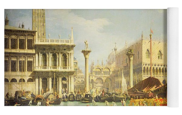 The Betrothal Of The Venetian Doge To The Adriatic Sea Yoga Mat