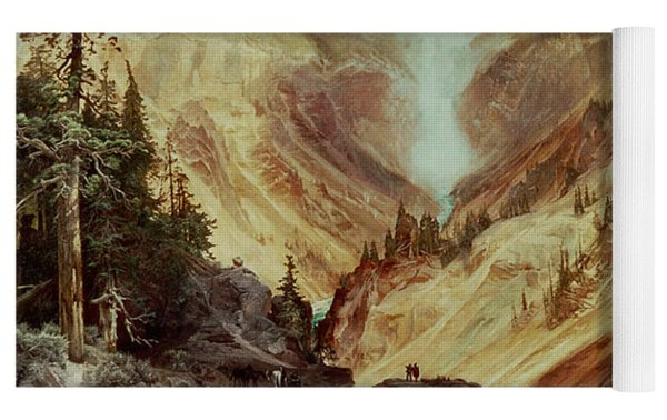 The Grand Canyon Of The Yellowstone Yoga Mat