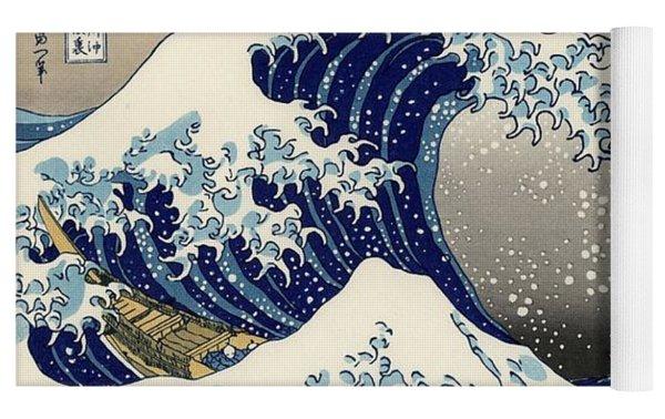 The Great Wave Off Kanagawa Yoga Mat