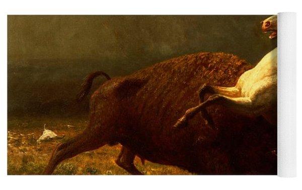 The Last Of The Buffalo Yoga Mat