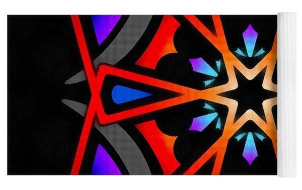 Utron Star Yoga Mat by Derek Gedney