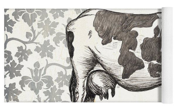 Vintage Farm 4 Yoga Mat by Debbie DeWitt