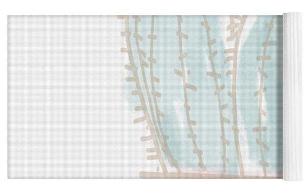 Watercolor Cactus- Art By Linda Woods Yoga Mat by Linda Woods