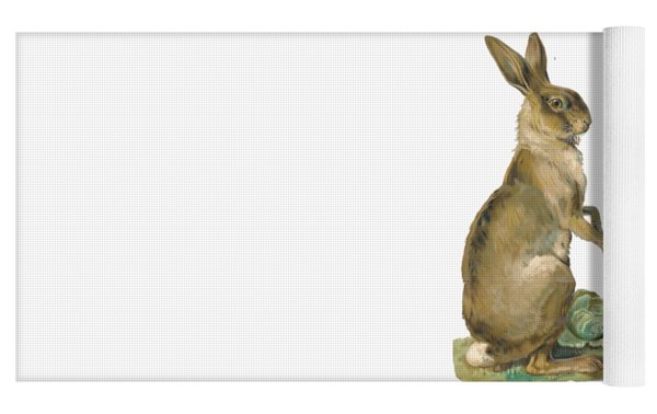 Wild Hare Yoga Mat by ReInVintaged