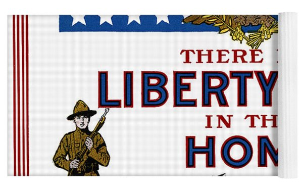 World War I Liberty Bond Ad Yoga Mat by Granger