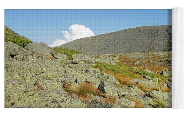Mount Washington - New Hampshire, White Mountains Yoga Mat by Erin Paul Donovan