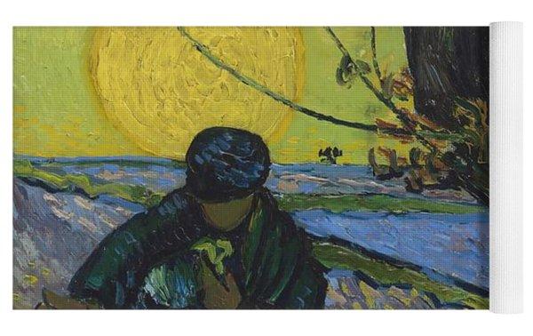 The Sower Yoga Mat by Vincent Van Gogh