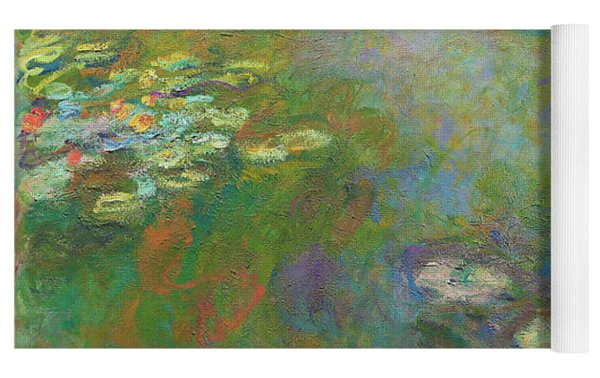Water Lily Pond Yoga Mat by Claude Monet