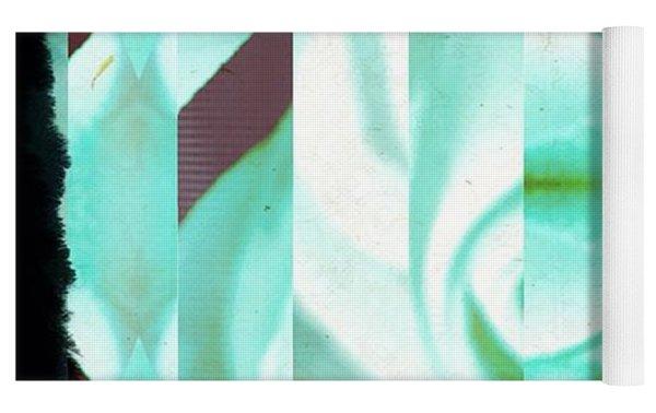 Abstract 089 Yoga Mat by Marian Palucci-Lonzetta