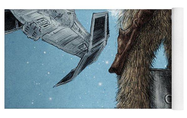 King Wookiee Yoga Mat by Eric Fan