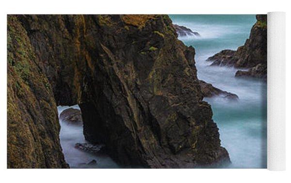 Cliffside Views Yoga Mat by Darren White