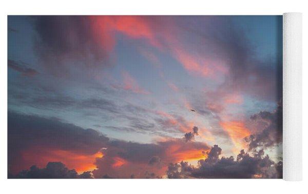 Colorful Sandsprit Sunrise Yoga Mat by Tom Claud