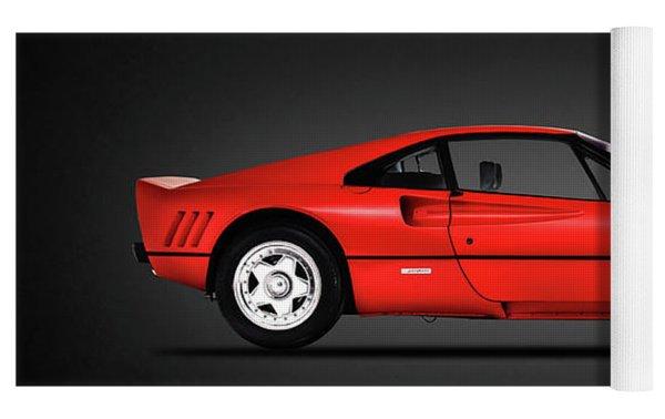 Ferrari 288 Gto Yoga Mat by Mark Rogan