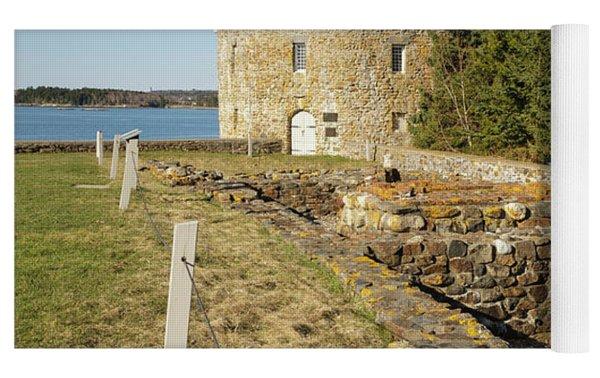 Fort William Henry - New Harbor, Maine Yoga Mat by Erin Paul Donovan