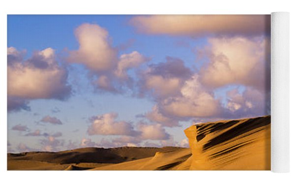 High Sand And Low Clouds Yoga Mat by Robert Potts