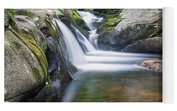 Mad River Falls Yoga Mat by Nathan Bush
