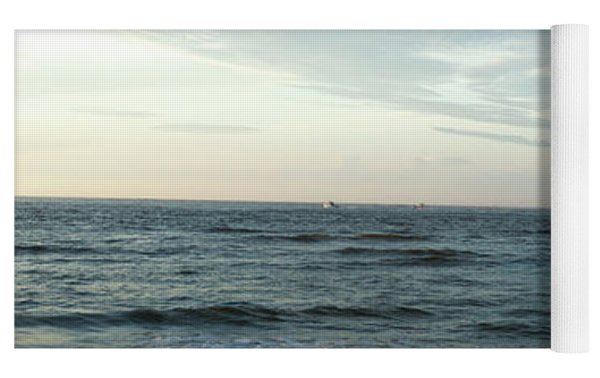 Ocean Sky Yoga Mat by Eric Christopher Jackson