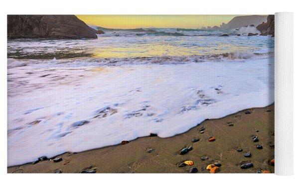 Skittles Beach Yoga Mat by Darren White