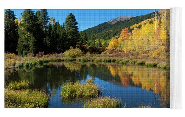 South Elbert Autumn Beauty Yoga Mat by Cascade Colors