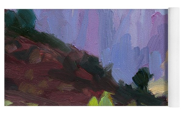 The Halls Of Zion Yoga Mat by Steve Henderson