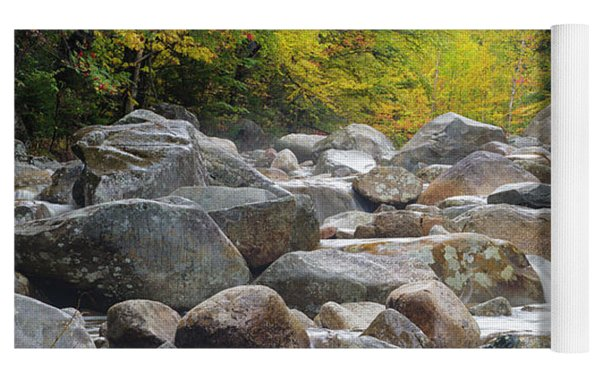 Zealand River - White Mountains, New Hampshire Yoga Mat by Erin Paul Donovan