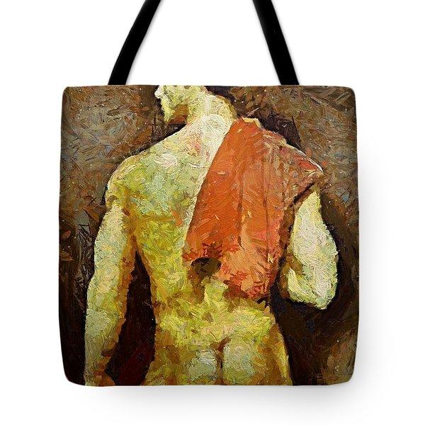 A Nonchalant Man Tote Bag