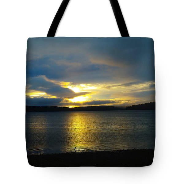 A Slow Sun Rise  Tote Bag by Jeff Swan