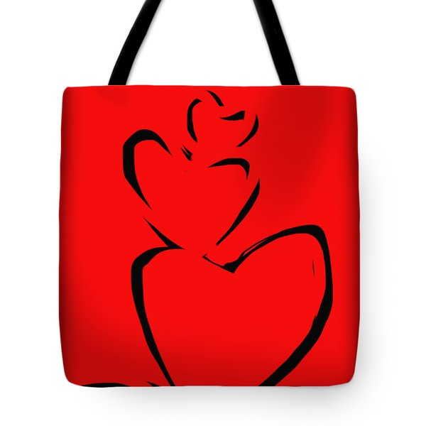 A Stack Of Hearts Tote Bag