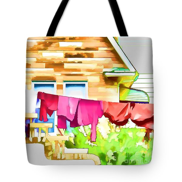 A Summer's Day - Digital Art Tote Bag