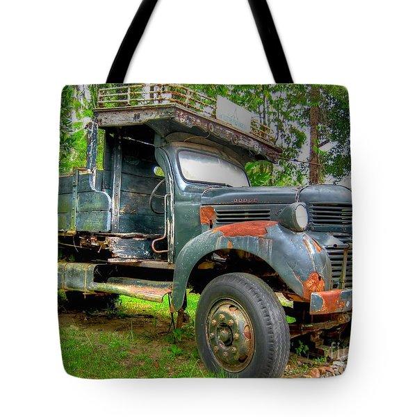 Abandoned Truck Tote Bag