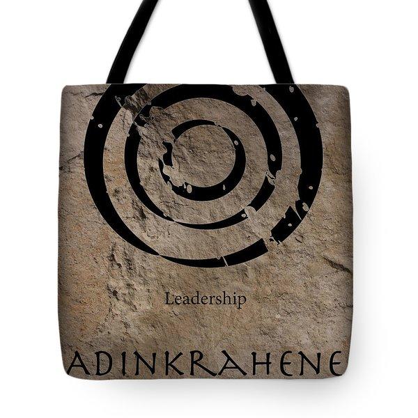 Adinkra Adinkrahene Tote Bag by Kandy Hurley