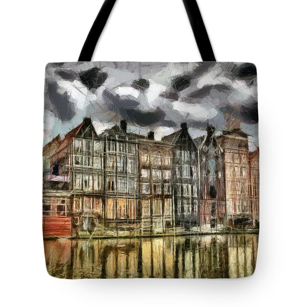 Amsterdam Water Canals Tote Bag by Georgi Dimitrov
