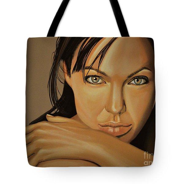 Angelina Jolie 2 Tote Bag