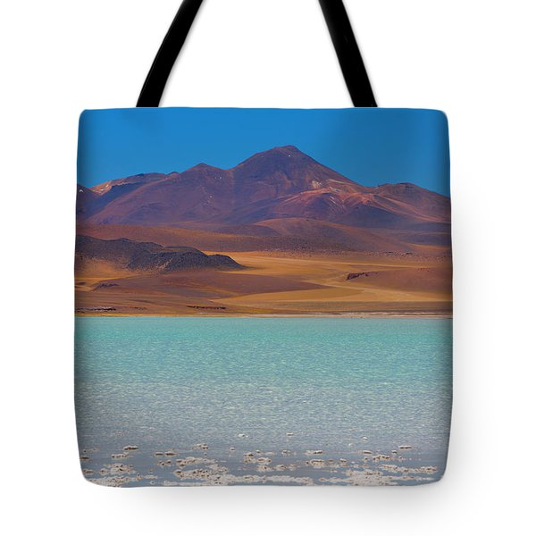 Atacama Salt Lake Tote Bag