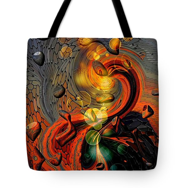 B-art 7 By Nico Bielow  Tote Bag by Nico Bielow