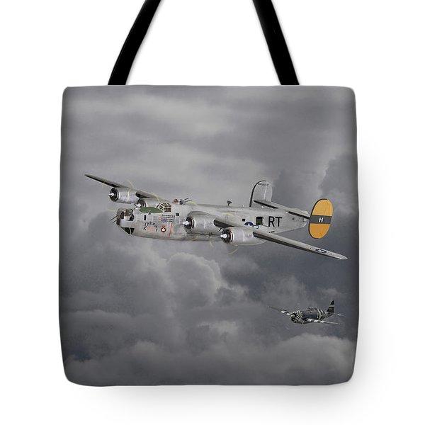 B24 Liberator  446th Bomb Group Tote Bag