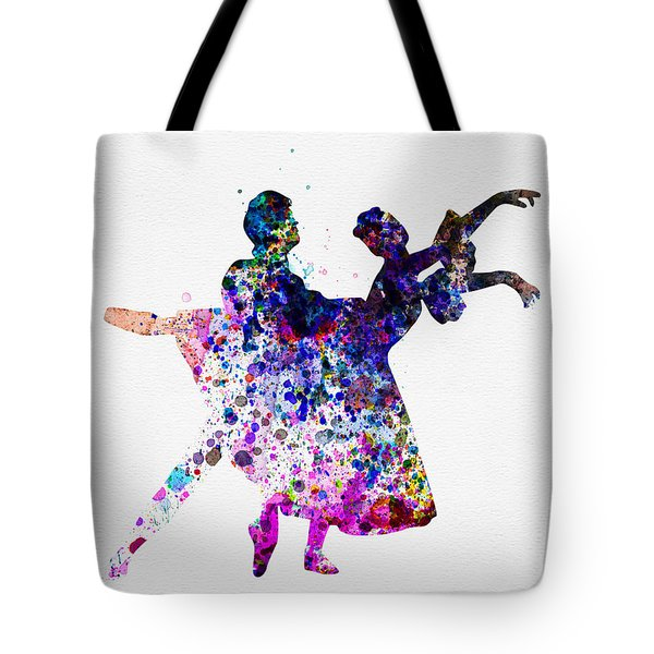 Ballet Dancers Watercolor 1 Tote Bag