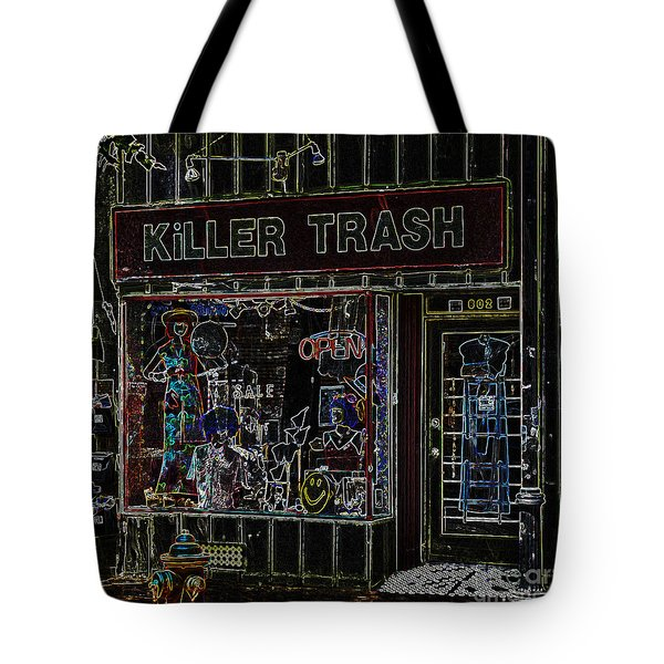Baltimore Storefront Impression Tote Bag