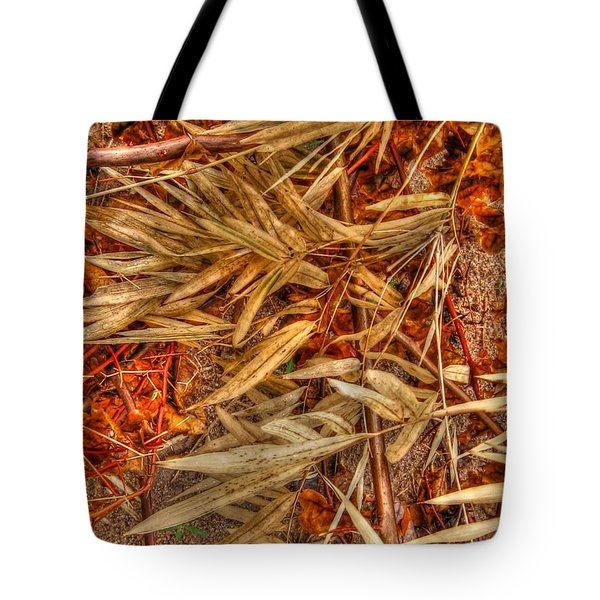 Bamboo Leaves Tote Bag by Michelle Meenawong