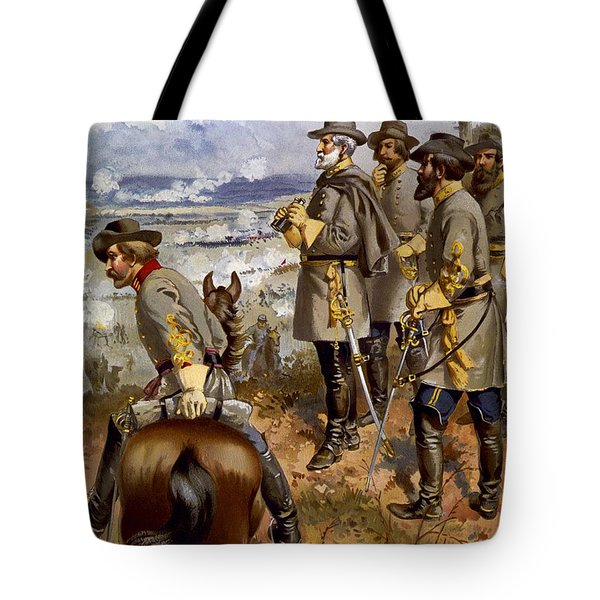 Battle Of Fredericksburg Tote Bag by American School