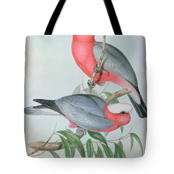 Birds Of Asia Tote Bag by John Gould
