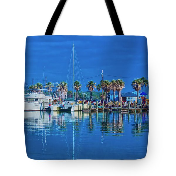 Blue Morning  Tote Bag
