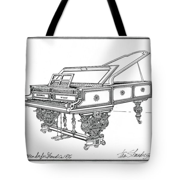 Bosendorfer Centennial Grand Piano Tote Bag