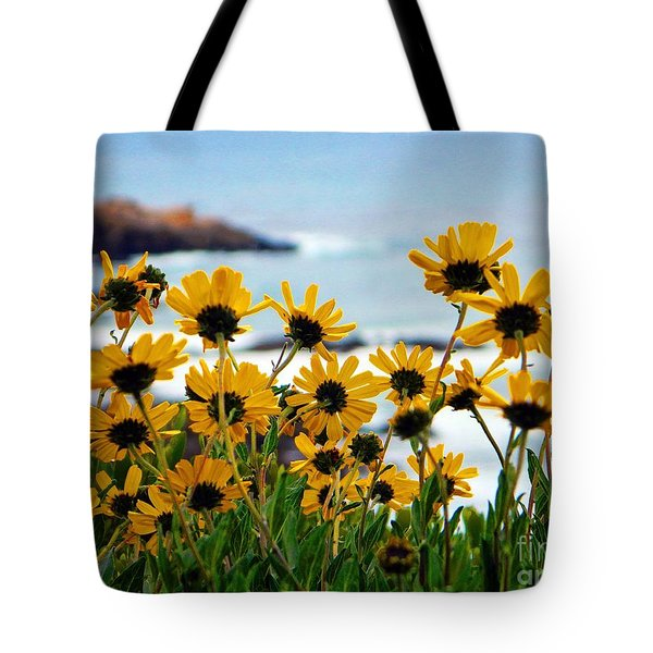 Tote Bag featuring the photograph  Cali Coast by Everette McMahan jr