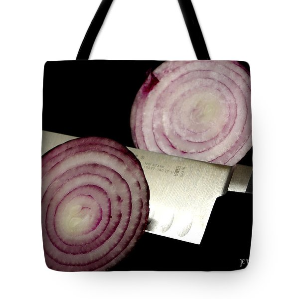 Tote Bag featuring the photograph  Candy Apple Onions by James C Thomas